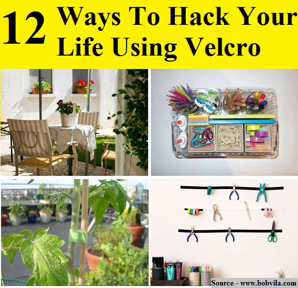 12 Ways To Hack Your Life Using Velcro