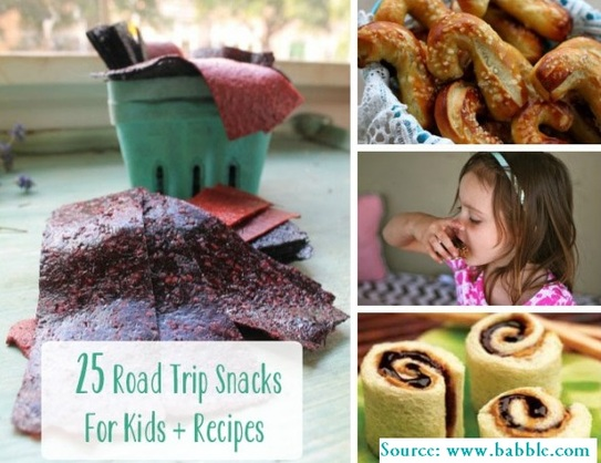 25 Road Trip Snacks for Kids