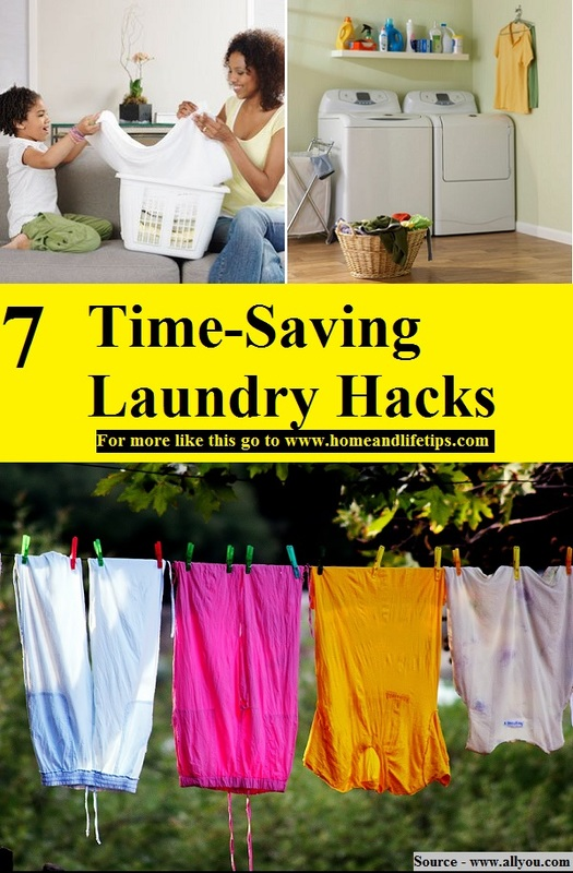 7 Time-Saving Laundry Hacks