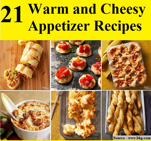 21 Warm And Cheesy Appetizer Recipes