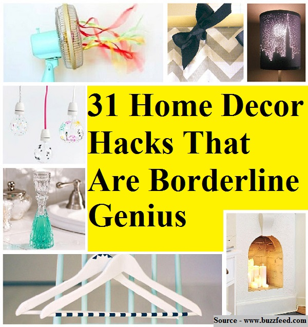 31 home decor hacks that are borderline genius home and for Home decor hacks