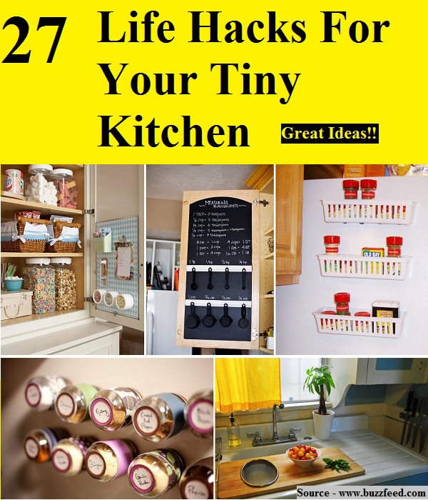 27 life hacks for your tiny kitchen home and life tips for 9 kitchen life hacks
