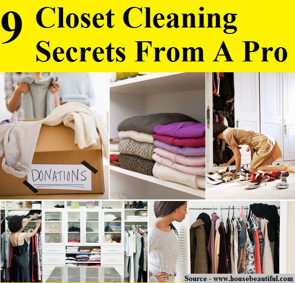 9 Closet Cleaning Secrets From A Pro