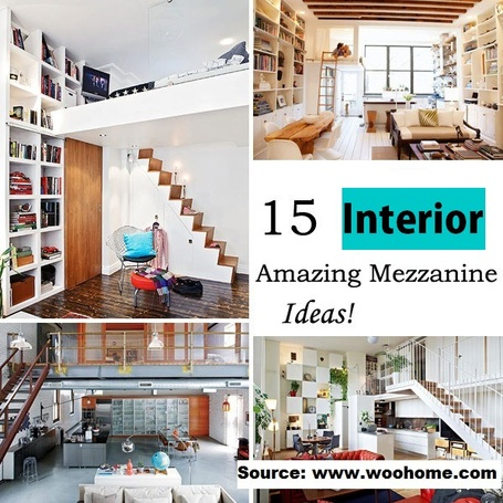 15 Amazing Mezzanine Ideas To Increase Your Living Space