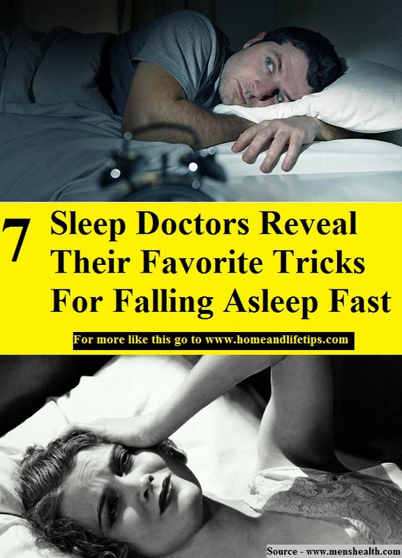7 Sleep Doctors Reveal Their Favorite Tricks For Falling Asleep Fast