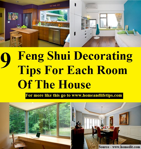9 feng shui decorating tips for each room of the house