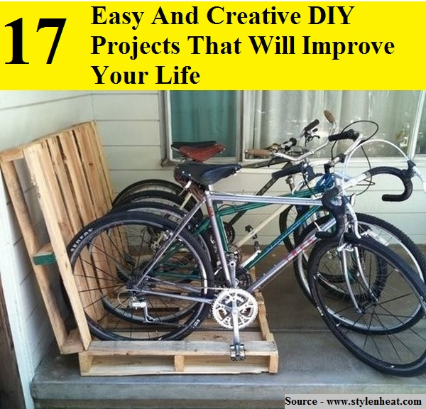 17 Easy And Creative DIY Projects That Will Improve Your Life