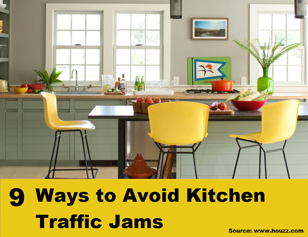 9 Ways to Avoid Kitchen Traffic Jams