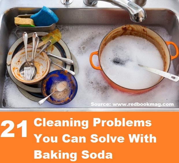 21 Cleaning Problems You Can Solve With Baking Soda