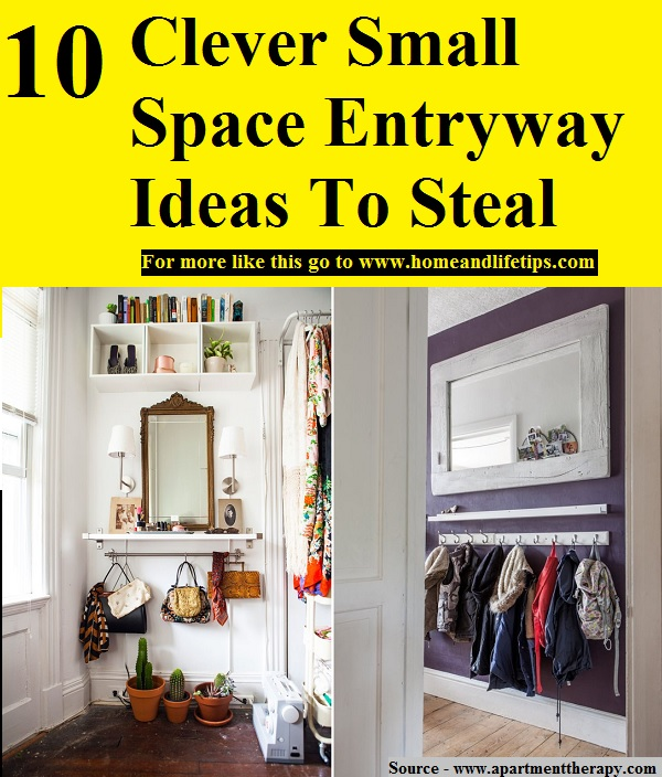 10 Clever Small Space Entryway Ideas To Steal