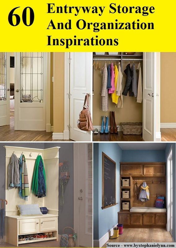 60 Entryway Storage And Organization Inspirations