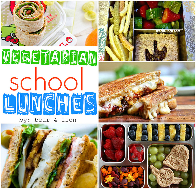 Fun Vegetarian School Lunches