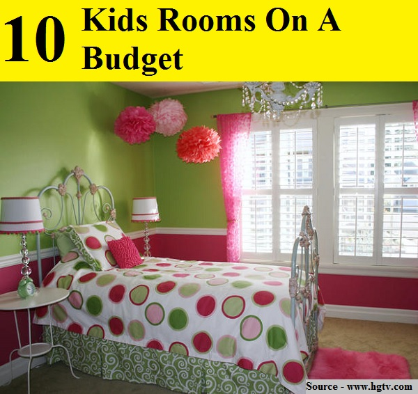 10 Kids Rooms On A Budget