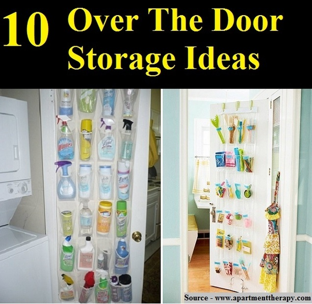 10 Over The Door Storage Ideas