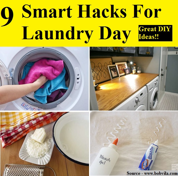 9 Smart Hacks For Laundry Day