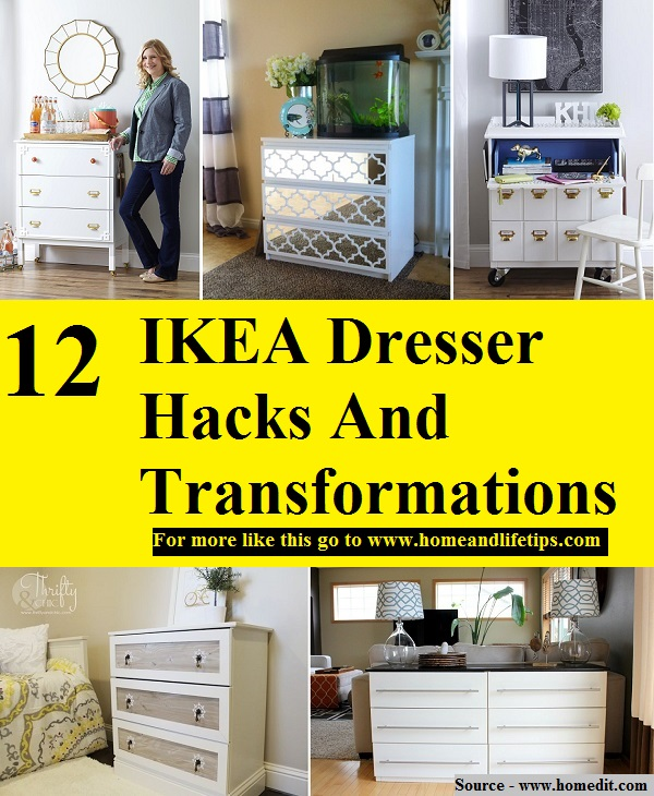 12 IKEA Dresser Hacks And Transformations