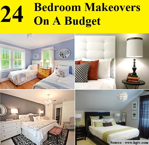 24 Bedroom Makeovers On A Budget