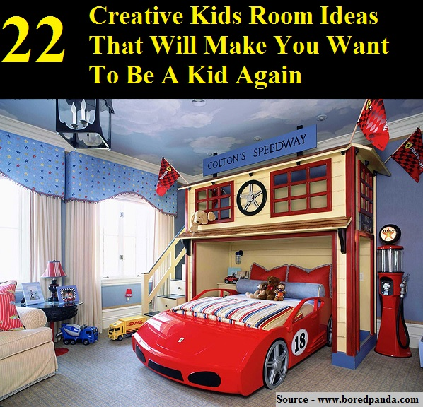 22 Creative Kids Room Ideas That Will Make You Want To Be A Kid Again