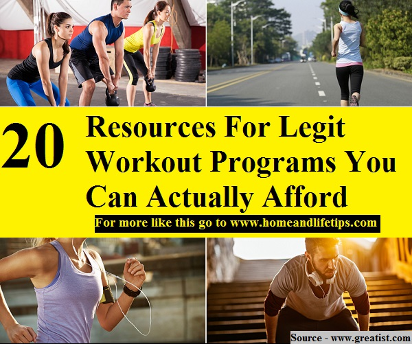 20 Resources For Legit Workout Programs You Can Actually Afford