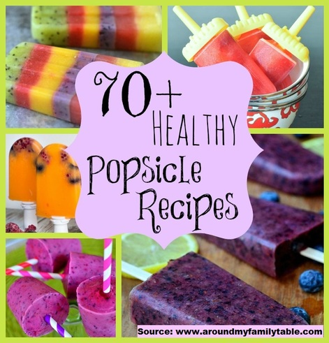 70 Healthy Popsicle Recipes