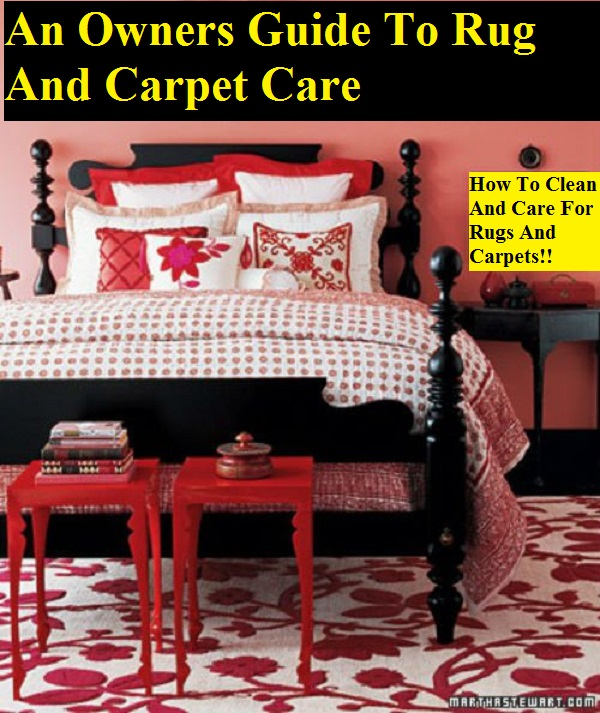 An Owners Guide To Rug And Carpet Care