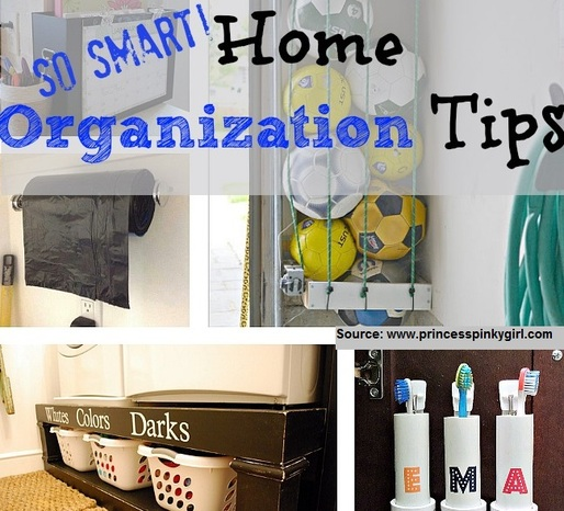 So Smart Home Organization Tips