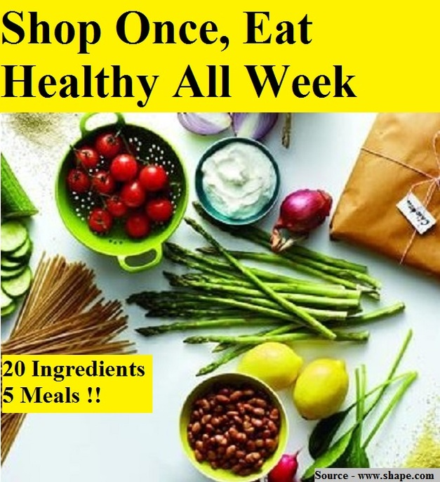 Shop Once, Eat Healthy All Week