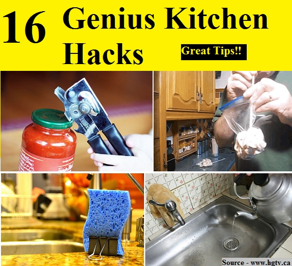 16 genius kitchen hacks home and life tips for 9 kitchen life hacks