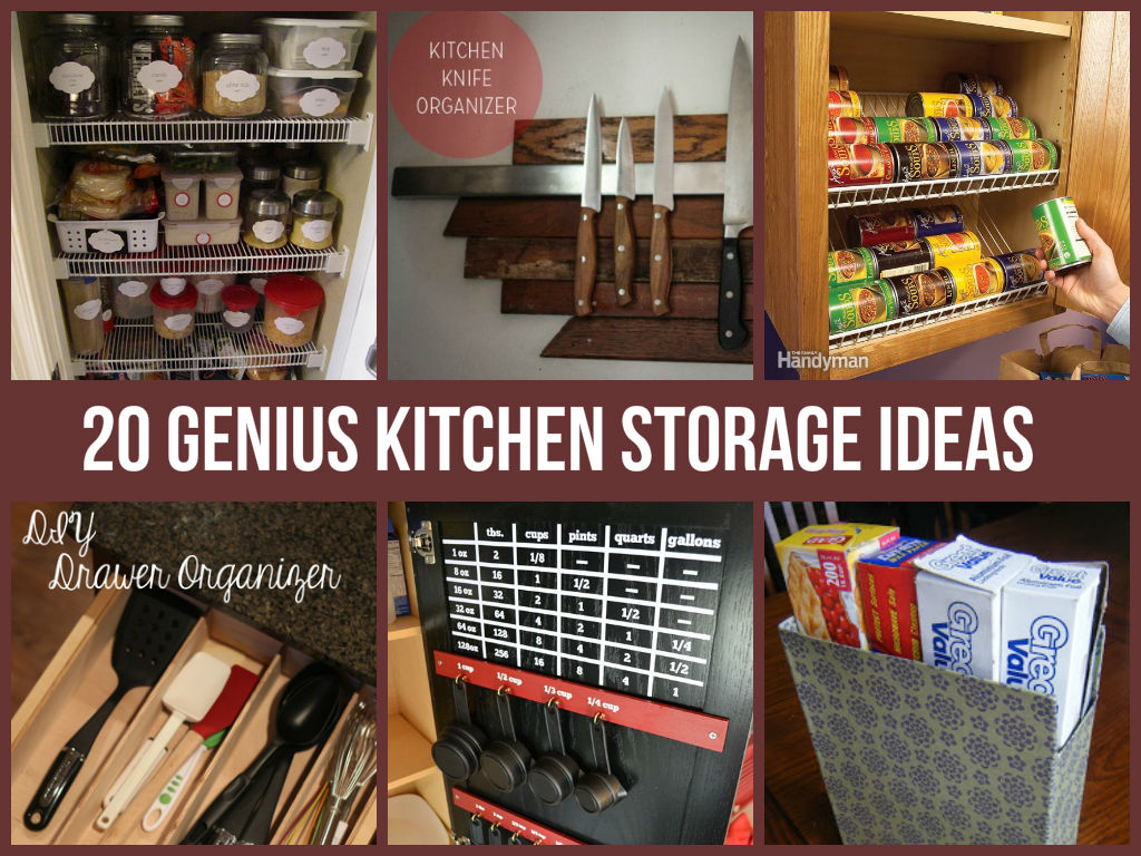 20 genius kitchen storage ideas home and life tips
