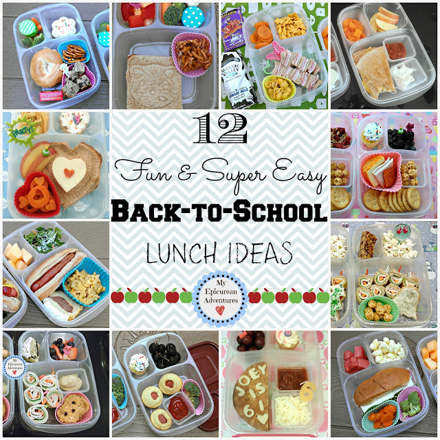 12 Super Fun and Easy Back-To-School Lunch Ideas