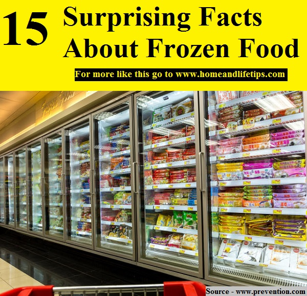 15 Surprising Facts About Frozen Food
