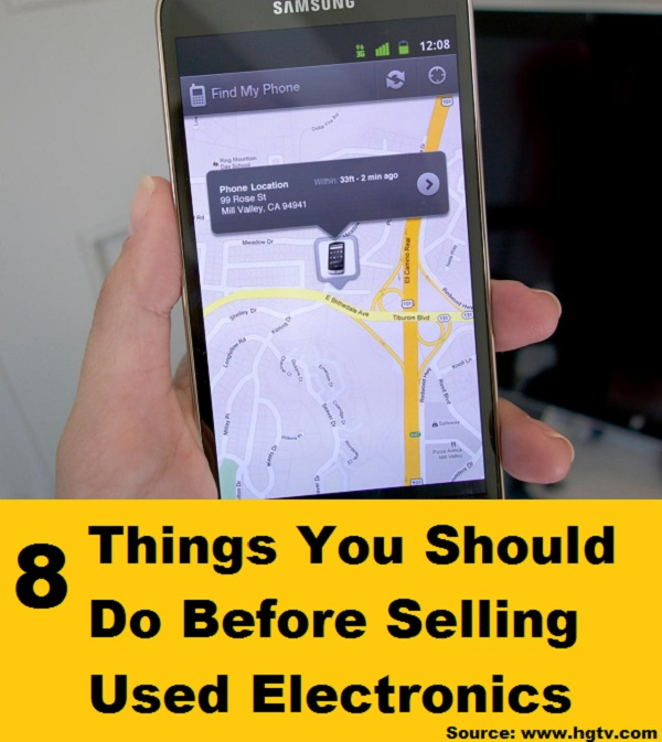 8 Things You Should Do Before Selling Used Electronics