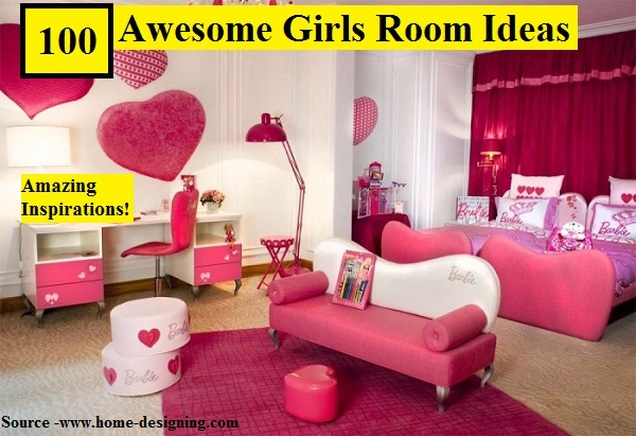 100 Awesome Girls Room Ideas