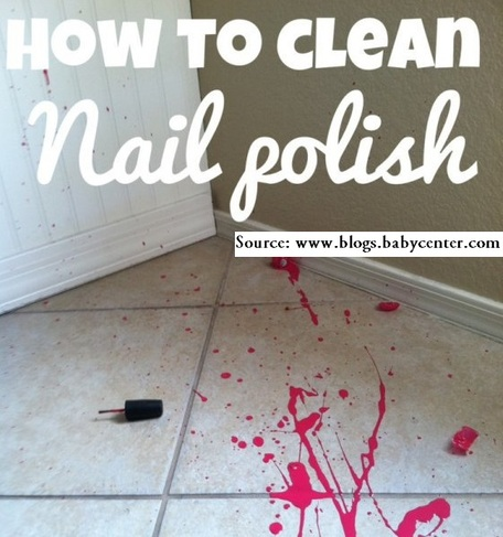 How to Clean Up a Nail Polish Spill