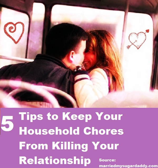 5 Tips to Keep Household Chores From Killing Your Relationship