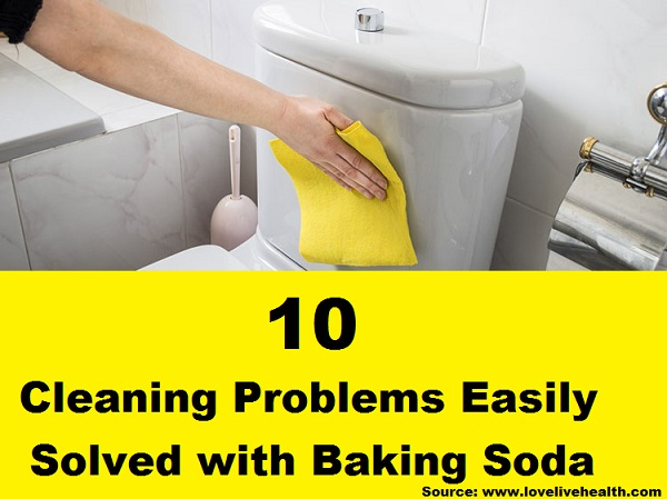10 Cleaning Problems Easily Solved with Baking Soda