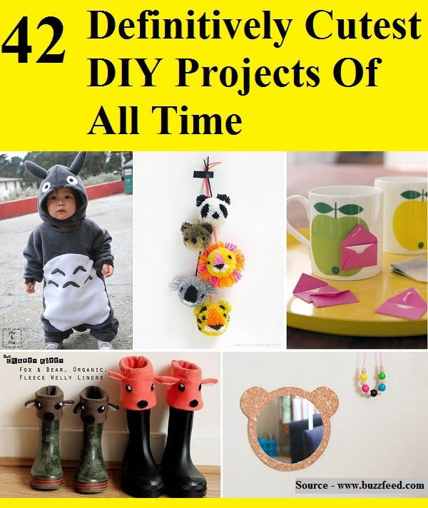 42 Definitively Cutest DIY Projects Of All Time