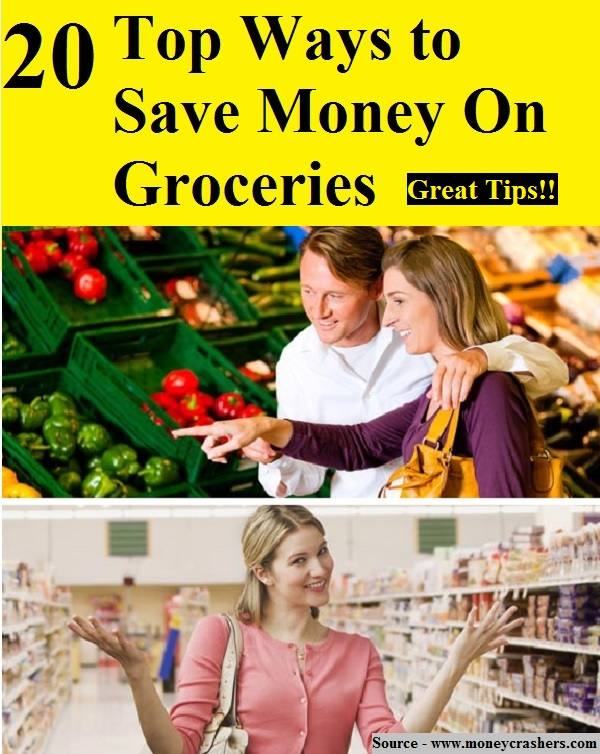 20 Top Ways To Save Money On Groceries