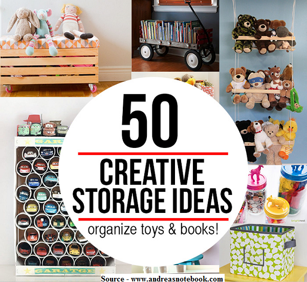 50 Cool And Creative Toy Storage Ideas