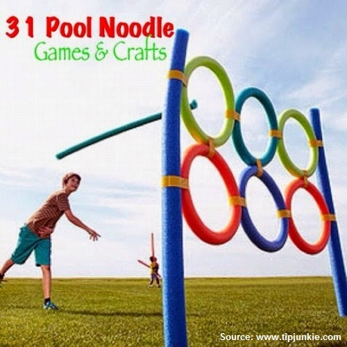 31 Pool Noodle Games and Crafts