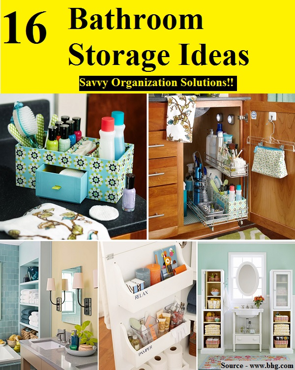 28 bathroom storage ideal home bathroom storage for Ideal home bathroom ideas