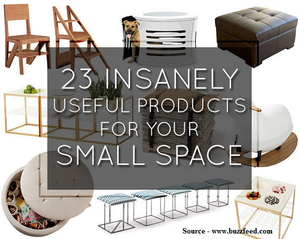 23 Insanely Useful Products For Your Small Space Home