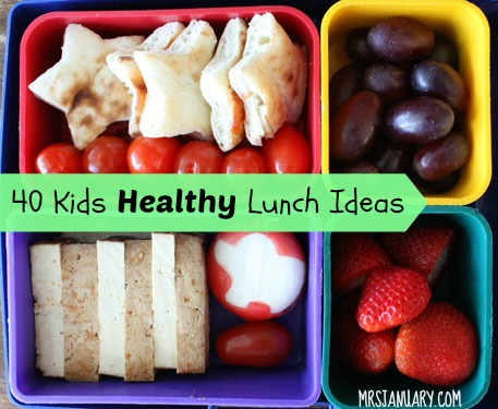 40 healthy kids lunch ideas home and life tips
