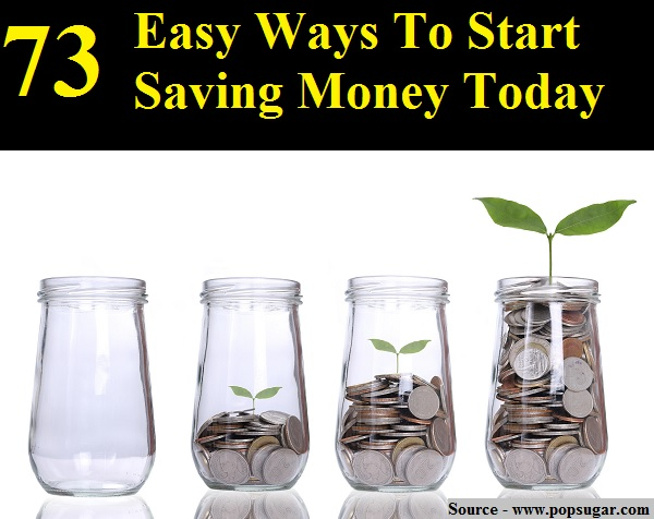 73 easy ways to start saving money today home and life tips for Fastest way to save for a house