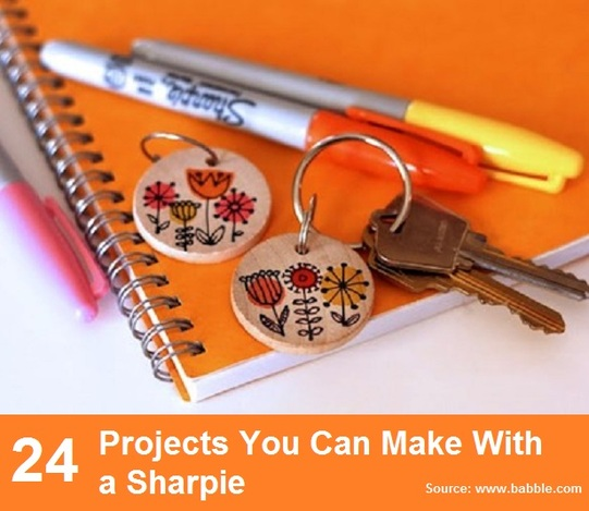 24 Projects You Can Make With a Sharpie