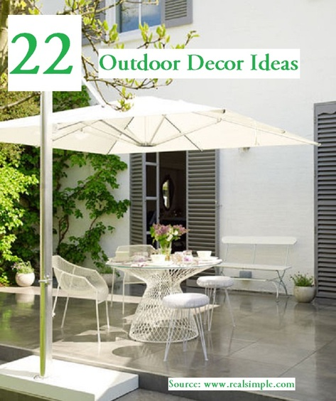 22 Outdoor Decor Ideas