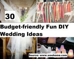 30 Budget-Friendly DIY Wedding Ideas