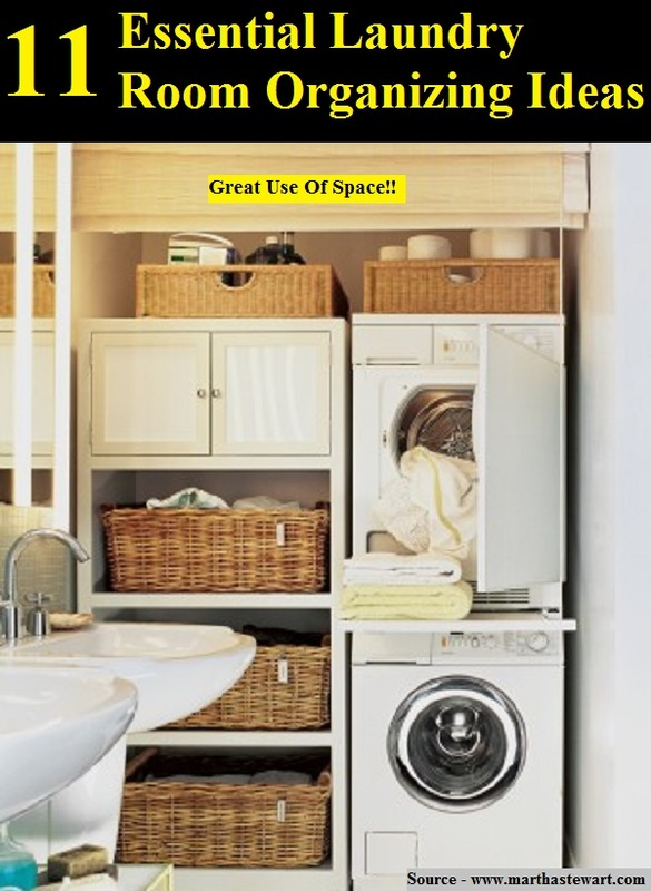 11 essential laundry room organizing ideas home and life tips