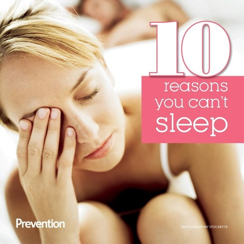 10 Reasons You Can Not Sleep