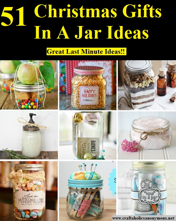 51 Christmas Gifts In A Jar Ideas